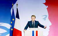 ماکرون حادثه قتل معلم تاریخ در پاریس را تروریستی خواند