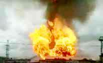 انفجار زاغه تسلیحاتی در روسیه