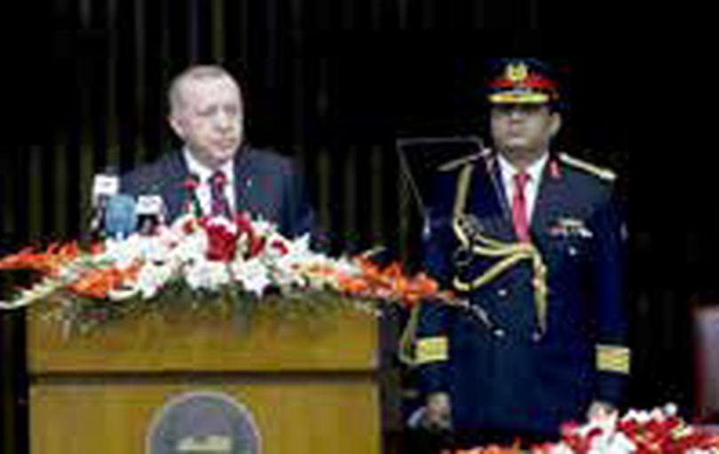 اردوغان در اسلامآباد: معامله قرن، طرح اشغالگری است