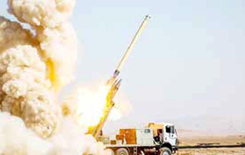 گلولهباران مقر تروریستها در کردستان عراق
