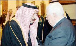 حمایت پادشاه سعودی از دولت فلسطین