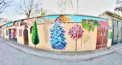 نقاشی دیواری و تاثیر آن بر زیست اجتماعی