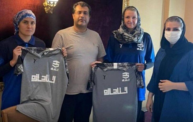 دو هندبالیست روس در لیگ ایران