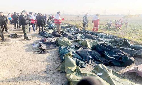 سقوط هواپیمای اوکراینی با 147 سرنشین ایرانی