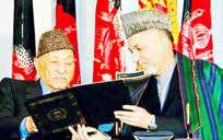 افغانستان قانون اساسی ظاهرشاه را با برخی ملاحظات به کار میگیرد
