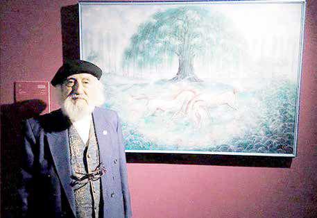 شش دهه نقاشی در اعتراض به انسان