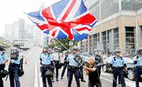 معترضان هنگکنگی آشکارا خواستار مداخله انگلیس شدند