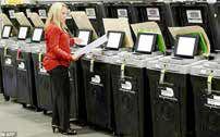 شروع رأیدهی پستی آمریکا در کارولینای شمالی