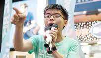 بازداشت رهبران معترضان هنگکنگ و لغو راهپیمایی امروز