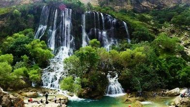 شِوی؛پهنترین آبشار خاورمیانه
