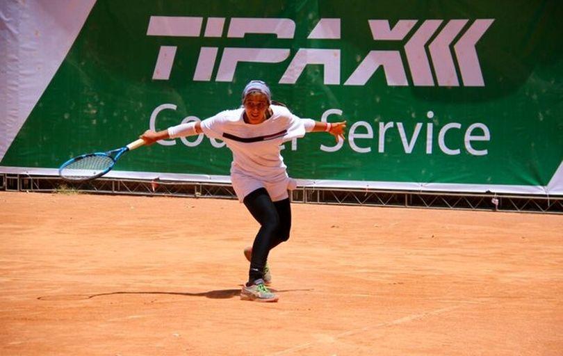 قهرمانی دختر ایرانی در تور تنیس جهانی