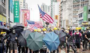 پکن - واشنگتن: نبرد  در هنگکنگ و تایوان