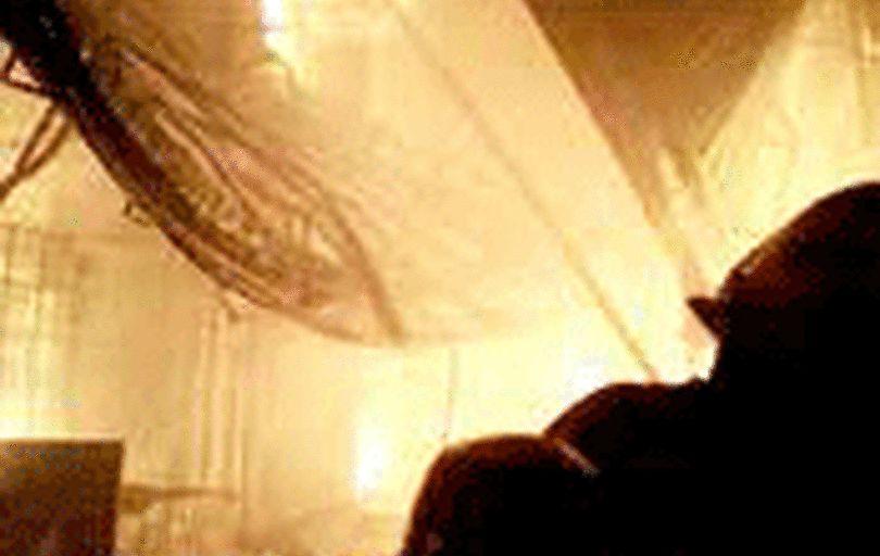 بازار تبریز در آتش سوخت