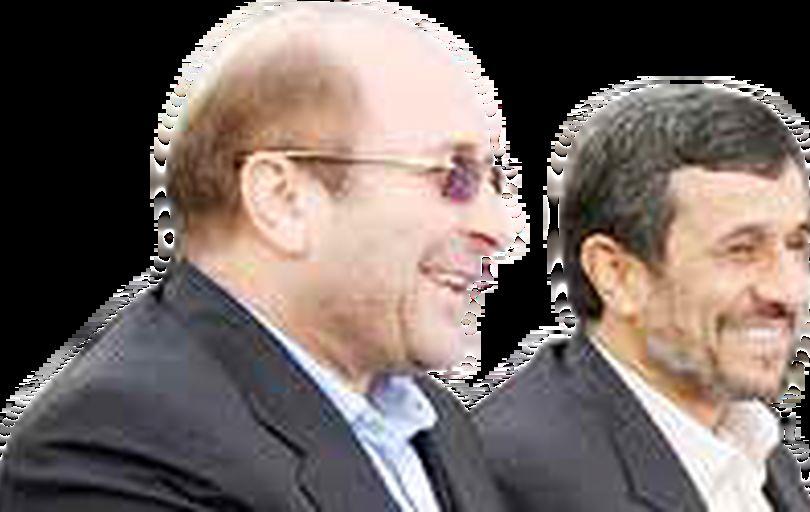 توافق قالیباف و احمدینژاد محال است