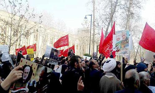 صفآرایی با پرچمهای سرخ
