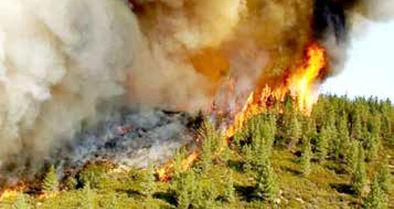 برای سومین روز؛ ارسباران در آتش میسوزد
