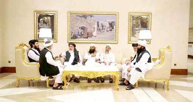 صلحِ بعید با طالبان در شرایتون!