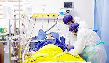 کاهش 5 تا 7 درصدی بیماران بستری کرونا در تهران