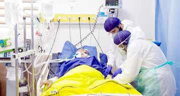 افزایش دو برابری بیماران کرونایی در تهران