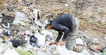 سهم ناچیز زبالهگردان از ثروت آلوده