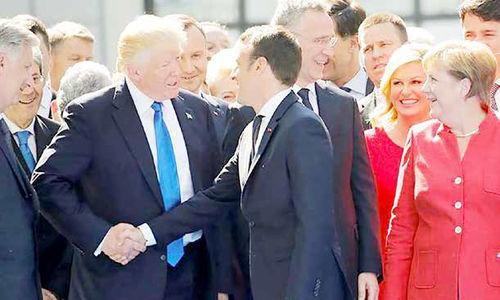 تقابل پاریس- واشنگتن  بر سر ایران