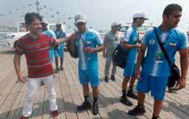 ثبت رکورد جدید توسط تیم غواصی ایران در بخش نجات زیر دریایی غرق شده