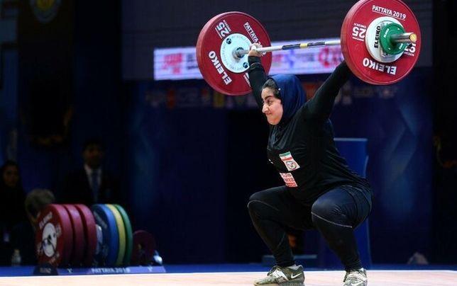 دلیل المپیکی نشدن دختران وزنهبردار