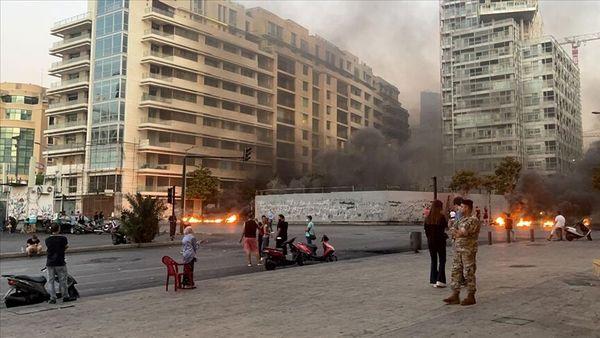 ادامه اعتراضات در لبنان در پی تشدید بحران اقتصادی