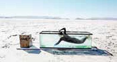 پرفورمنس «شنا در دریاچه خشک بختگان»