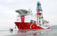 ترکیه به حفاری گاز در سواحل قبرس ادامه میدهد