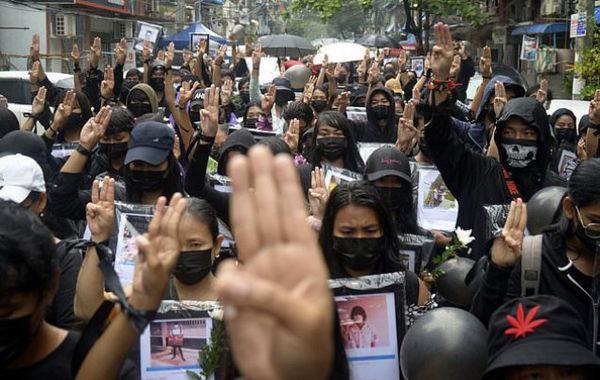 خونتای میانمار لیست افراد تحت پیگرد را منتشر کرد
