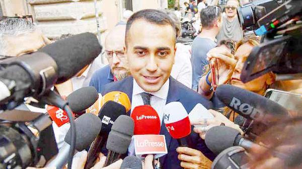 ائتلاف جنبش پنج ستاره  ایتالیا  با حزب دموکرات