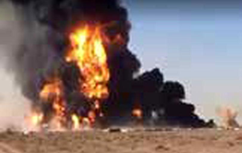 آتشسوزی گسترده در گمرک اسلام قلعه