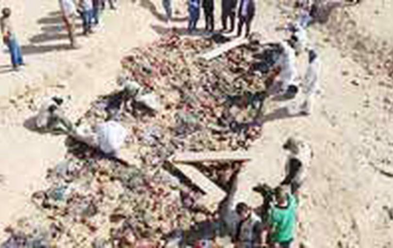کشف 10 گور جمعی قربانیان رژیم صدام در جنوب عراق