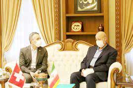 روابط ایران و سوییس در ابعاد علمی و گردشگری توسعه یابد