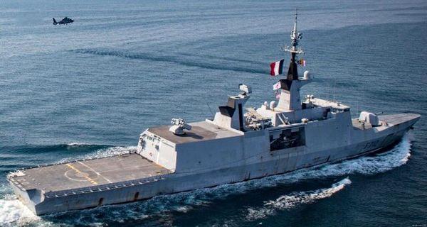 آغاز به کار ائتلاف دریایی اروپایی در تنگه هرمز