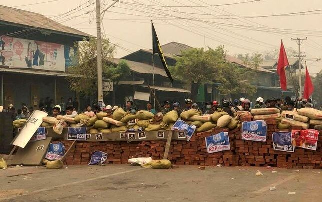 تشکیل هستههای مقاومت محلی برای مقابله با ارتش در میانمار