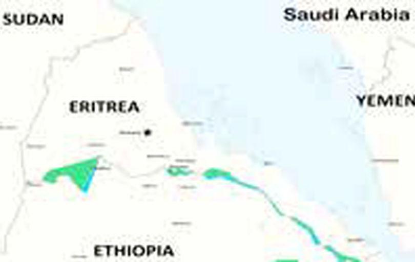 حمله موشکی اتیوپی به پایتخت اریتره