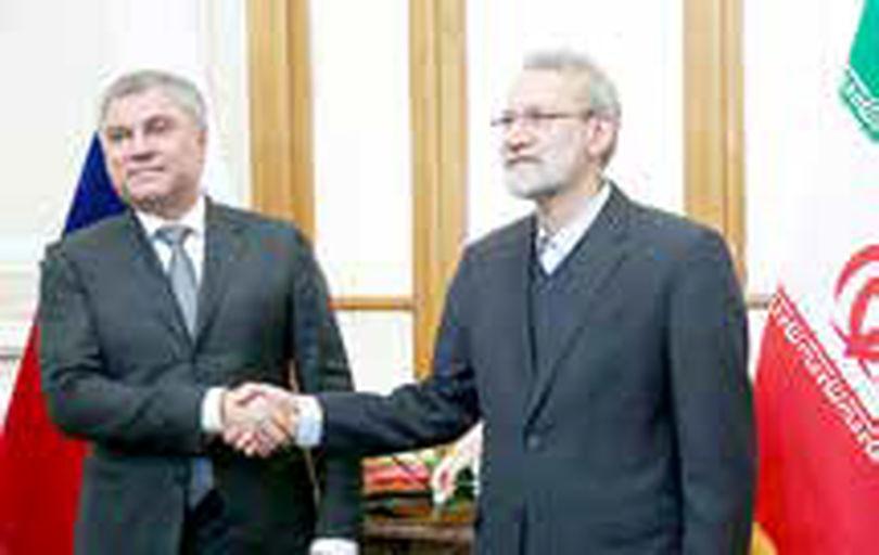 تاکید رئیس دومای دولتی روسیه بر تداوم گفتوگو بین ایران و روسیه