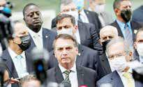 صعود برزیل به جایگاه سوم کشورهای بحرانزده از کرونا