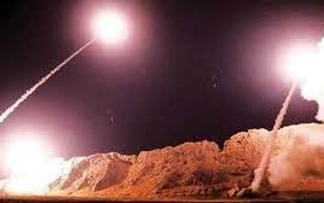 حمله راکتی به منطقه سبز بغداد