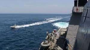 تنش تازه دریایی میان ایران و آمریکا