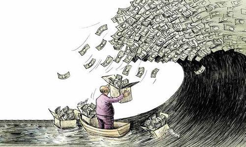 سیل نقدینگی اقتصاد را میبرد