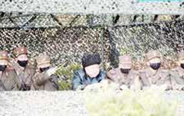 کرهشمالی رزمایش توپخانهای برگزار کرد