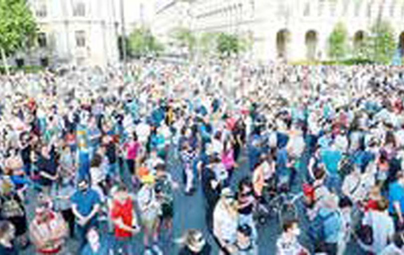 تظاهرات مجارستانی علیه ساخت یک دانشگاه چینی در بوداپست