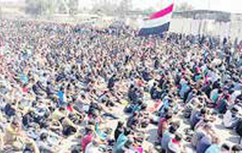بازگشت حامیان صدر به میدان التحریر بغداد