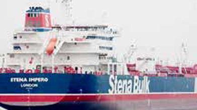 درخواست برای آزادی خدمه نفتکش انگلیسی
