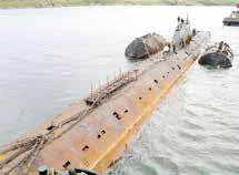 تداوم نشت تشعشعات هستهای زیردریایی غرقشده