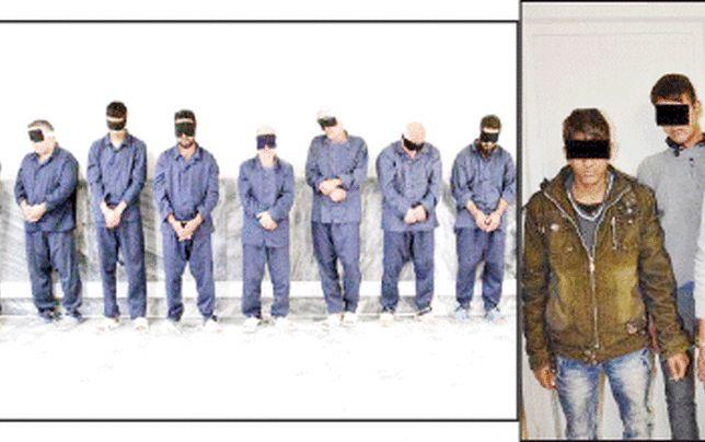 اعترافات 9 مرد تبهکار به سرقتهای اعیانی