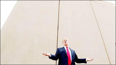 سیاست خصمانه ترامپ برای دیوار مرزی